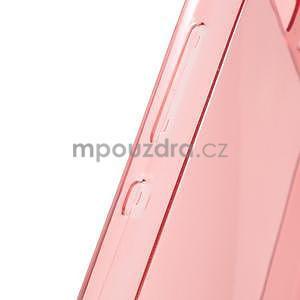 Ultra tenký gelový obal na Huawei Ascend P8 Lite - červený - 6