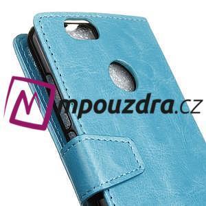 Sean peňaženkové puzdro na mobil Huawei Nova - modré - 6