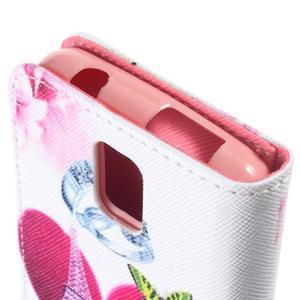 Peňaženkové puzdro na mobil Huawei Y3 a Y360 - srdce - 6