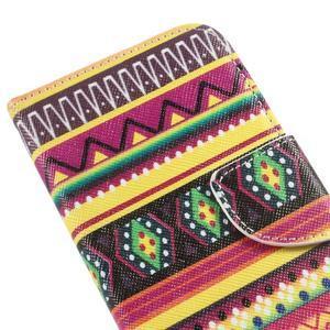 Peněženkové pouzdro na mobil Huawei Y3 a Y360 - tribal - 6