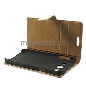 Peňaženkové puzdro pre Samsung Galaxy A3 - americké srdce - 6