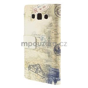 Peňaženkové puzdro na Samsung Galaxy A3 - Šikmá veža - 6