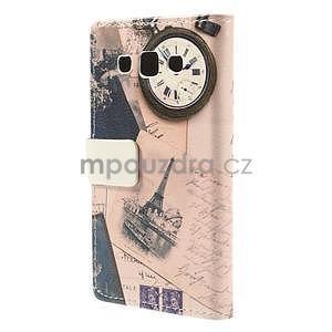 Peňaženkové puzdro na Samsung Galaxy A3 - Eiffelova veža - 6
