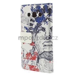 Peňaženkové puzdro pre Samsung Galaxy A3    - Socha Svobody - 6