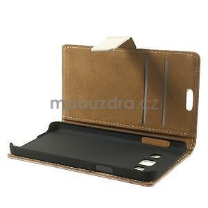 Peňaženkové puzdro pre Samsung Galaxy A3    - mačička - 6
