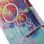 Zapínací peňaženkové puzdro pre Samsung Galaxy S5 mini - snívanie - 6/7