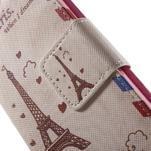Zapínací peněženkové pouzdro na Samsung Galaxy S5 mini - Eiffelova věž - 6/7