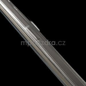 Transparentní hybridný gélový obal na Samsung Galaxy S6 Edge - 6