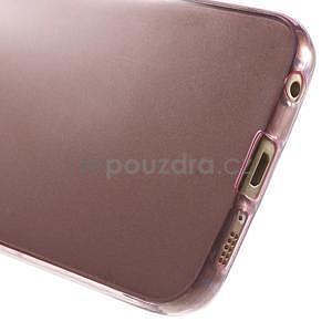 Ultra tenký gélový obal na Samsung Galaxy S6 Edge - rose - 6