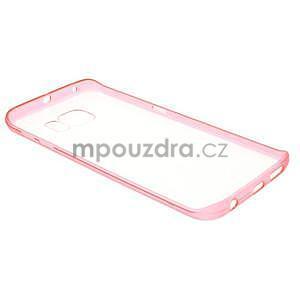 Rose hybridný gélový obal pre Samsung Galaxy S6 Edge - 6