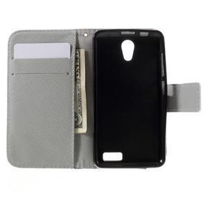 Styles peněženkové pouzdro na mobil Lenovo A319 - kocour - 6