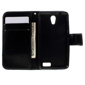 Styles peňaženkové puzdro pre mobil Lenovo A319 - modrý motýľ - 6