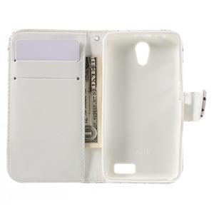 Styles peňaženkové puzdro pre mobil Lenovo A319 - motýľe - 6