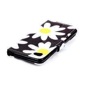 Style peňaženkové puzdro pre mobil Lenovo S90 - sedmikrásky - 6