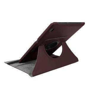 Puzdro s otočnou funkcí na tablet Lenovo Tab 2 A10-70 - tmavěhnědé - 6