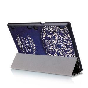 Polohovatelné pouzdro na tablet Lenovo Tab 2 A10-70 - vintage - 6