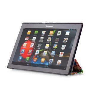 Polohovatelné puzdro pre tablet Lenovo Tab 2 A10-70 - farebné kruhy - 6