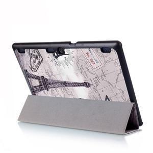 Polohovatelné puzdro pre tablet Lenovo Tab 2 A10-70 - Eiffelova veža - 6