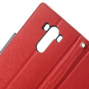 Goos peňaženkové puzdro pre LG G3 - červené - 6