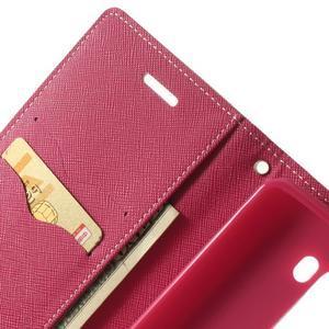 Goos peňaženkové puzdro pre LG G3 - ružové - 6