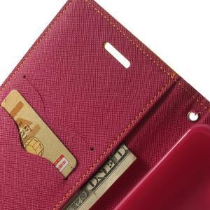 Goos peňaženkové puzdro pre LG G3 - žlté - 6