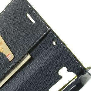 Goos peněženkové pouzdro na LG G3 - zelené - 6