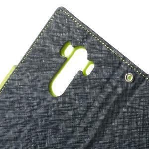 Goos peněženkové pouzdro na LG G3 - tmavěmodré - 6