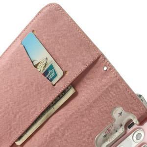 Ultra motive peněženkové pouzdro na LG G3 - květiny - 6