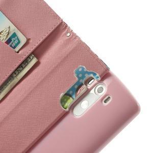 Ultra motive peňaženkové puzdro pre LG G3 - maľované ketiny - 6