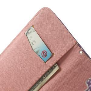Ultra motive peňaženkové puzdro pre LG G3 - srdiečka - 6