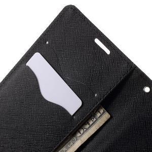 Cross PU kožené pouzdro na LG G3 - černé - 6