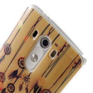 Gélový kryt pre mobil LG G3 - lapače snov - 6