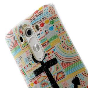 Gélový kryt pre mobil LG G3 - kotva - 6