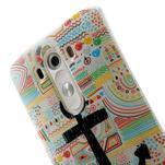 Gélový kryt pre mobil LG G3 - kotva - 6/7