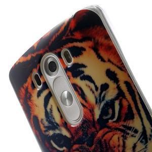 Gélový kryt pre mobil LG G3 - tygr - 6