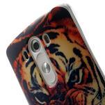 Gelový kryt na mobil LG G3 - tygr - 6/7