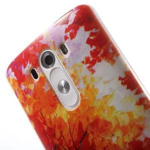 Silks gelový obal na mobil LG G3 - podzimní malba - 6