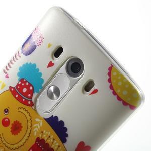 Silks gélový obal pre mobil LG G3 - slon - 6