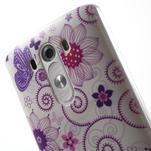 Silks gelový obal na mobil LG G3 - motýlci - 6/7