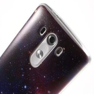 Silks gélový obal pre mobil LG G3 - galaxy - 6