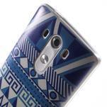 Silks gelový obal na mobil LG G3 - geo tvary - 6/7
