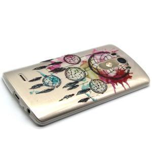 Průhledný gelový obal na LG G3 - lapač snů - 6
