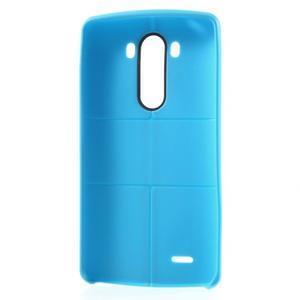 Lines gélový kryt pre mobil LG G3 - modrý - 6