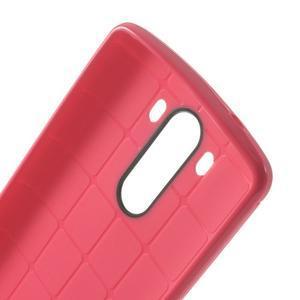 Silks gelový obal na LG G3 - rose - 6