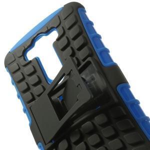 Outdoor odolný obal na mobil LG G3 - modrý - 6