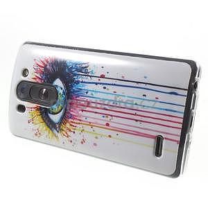 Gélový obal pre LG G3 s - oko barev - 6
