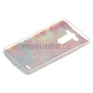 Ultra slim 0.6 mm gélový obal LG G3 s - jesenné precházka - 6