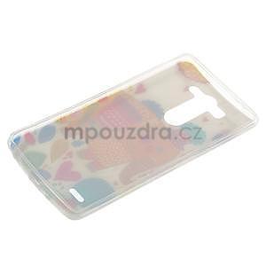 Ultra slim 0.6 mm gélový obal LG G3 s - sloník - 6