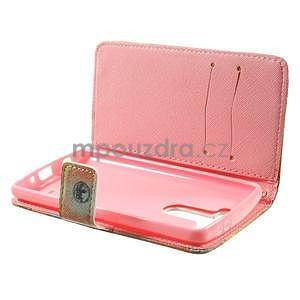 Zapínací peňaženkové puzdro pre LG G3 s - Big Ben - 6
