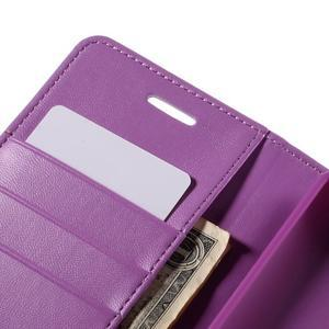 Sonata peněženkové pouzdro na LG G4 - fialové - 6